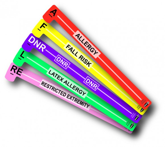 Color Coded Alert Wristbands